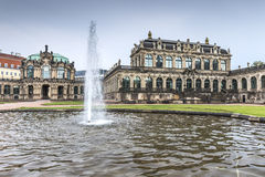 Zwinger Palace, museum complex in Dresden. Zwinger Palace, museum complex and most visited monument in Dresden, Germany Stock Image