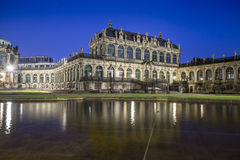 Zwinger Palace, museum complex in Dresden Royalty Free Stock Photos