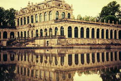 Zwinger palace Royalty Free Stock Image