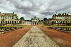 Zwinger palace. Stock Photography
