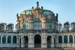 Zwinger-Palast in Dresden Stockbilder
