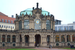 Zwinger-Palast Dresden Stockfotografie