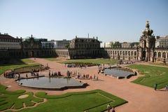 Zwinger Palast in Dresden stockbilder