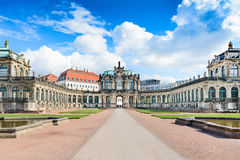 Zwinger Palast, Dresden Stockfotografie