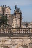 Zwinger rokoko rzeźby Obrazy Royalty Free