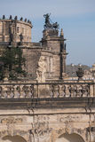 Zwinger rokokoskulpturer Royaltyfria Bilder