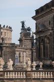 Zwinger rokokostil Arkivbild