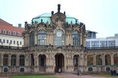 Zwinger slott Dresden Arkivbild