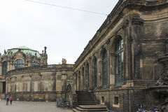 Zwinger slott Dresden, Tyskland Arkivfoto