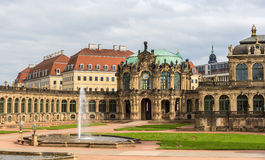 Zwinger slott i Dresden, Sachsen Fotografering för Bildbyråer