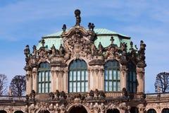 Zwinger slottmuseum Dresden Royaltyfri Bild