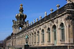 Zwingeren i Dresden, Sachsen royaltyfri foto