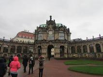 Zwingermuseum in het vroegere koninklijke paleis, stad van Dresden, Duitsland royalty-vrije stock afbeelding