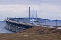 Zwischen Dänemark und Schweden lizenzfreies stockbild