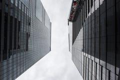 Zwischen Gebäuden Stockfoto