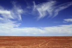 Zwischen Himmel und Erde Stockfoto