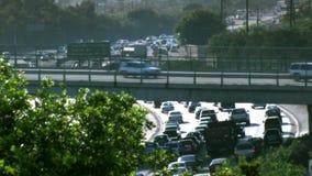 Zwischenstaatlicher 5 Autobahn-Stoßverkehr stock video footage
