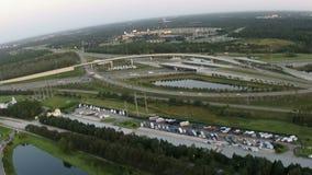 Zwischenstaatliches System Floridas stock video footage