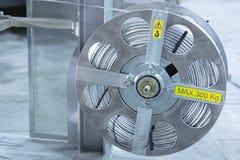 Zwitka z aluminium drutem w kolorze obraz stock