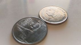 Zwitki srebro metriral Thailand na klingerytu bielu obrazy royalty free