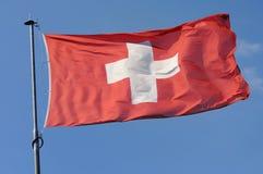 Zwitser, vlag Royalty-vrije Stock Fotografie