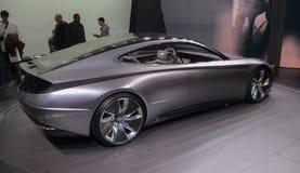 Zwitserland; Genève; 8 maart, 2018; Hyundai Le Fil Rouge Concept stock afbeeldingen