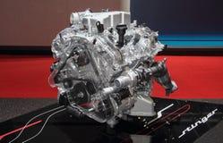 Zwitserland; Genève; 8 maart, 2018; KIA Stinger-motor; de achtentachtigste Stock Afbeelding