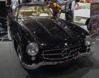 Zwitserland; Genève; 9 maart, 2019; Mercedes-Benz; De 89ste Internationale Motorshow in Genève van zevende tot 17 van Maart, 2019 stock foto's