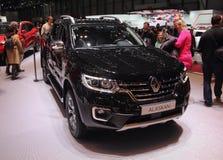 Zwitserland; Genève; 8 maart, 2018; Renault Alaskan; 88t royalty-vrije stock foto's