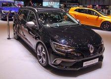 Zwitserland; Genève; 8 maart, 2018; Renault Megane GT; 8 stock foto