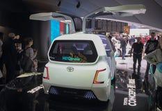 Zwitserland; Genève; 8 maart, 2018; Toyota-Concept berijd ik achters Royalty-vrije Stock Afbeelding