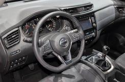 Zwitserland; Gen?ve; 9 maart, 2019; Nissan-x-Sleep; De 89ste Internationale Motorshow in Gen?ve van zevende tot 17 van Maart, 201 stock afbeelding