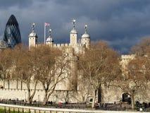 Zwitsers aangaande toren Royalty-vrije Stock Afbeeldingen