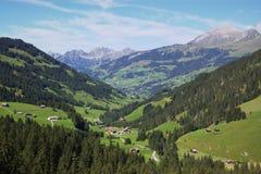 Zwitsers berglandschap Royalty-vrije Stock Afbeelding
