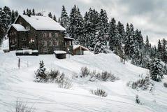 Zwitsers Bergtoevluchtsoord stock afbeelding