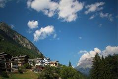 Zwitsers dorp Stock Afbeeldingen