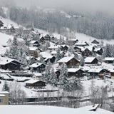 Zwitsers Dorp Stock Fotografie