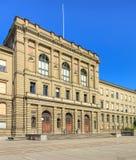 Zwitsers Federaal Instituut van Technologie in de bouw van Zürich royalty-vrije stock afbeeldingen