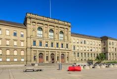 Zwitsers Federaal Instituut van Technologie in de bouw van Zürich stock fotografie
