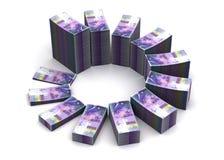 Zwitsers Franc Chart vector illustratie