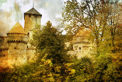 Zwitsers kasteel Stock Foto's