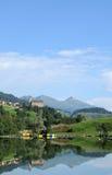 Zwitsers landschap Stock Afbeelding