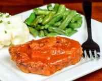 Zwitsers lapje vlees stock fotografie