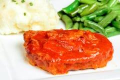 Zwitsers lapje vlees stock afbeeldingen