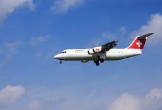 Zwitsers vliegtuig Royalty-vrije Stock Foto