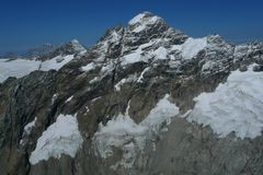 Zwitserse Alpen Royalty-vrije Stock Fotografie