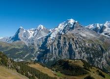 Zwitserse Alpen Royalty-vrije Stock Afbeeldingen