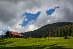 Zwitserse Alpen Stock Afbeeldingen