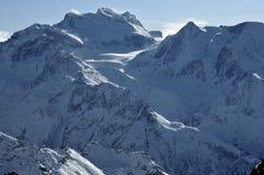Zwitserse Alpen Grote Combin Royalty-vrije Stock Afbeeldingen