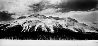 Zwitserse Alpen in Zwitserland, Europa Stock Foto